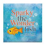 Sparky the Wonderfish Tile Coaster