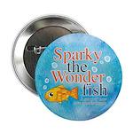 "Sparky the Wonderfish 2.25"" Button"
