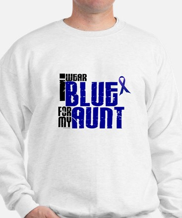 I Wear Blue For My Aunt 6 Sweatshirt