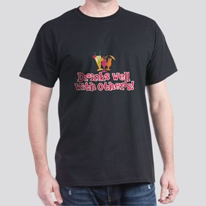 Drinks Well With Others - Dark T-Shirt