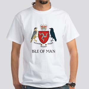 Isle of Man Coat of Arms White T-Shirt