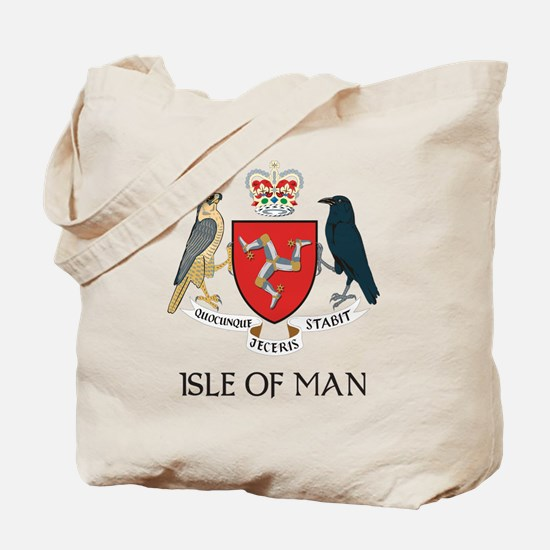 Isle of Man Coat of Arms Tote Bag