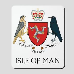 Isle of Man Coat of Arms Mousepad