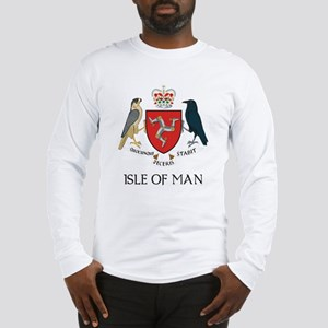 Isle of Man Coat of Arms Long Sleeve T-Shirt