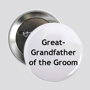 Great Grand-father of the Groom Button