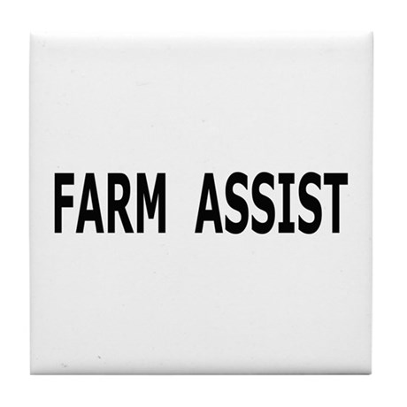 Farm Assist Tile Coaster