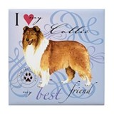 Rough collie Coasters