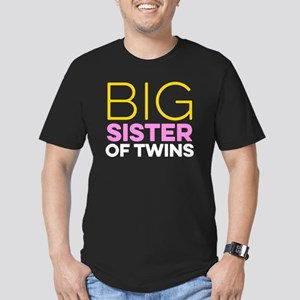 Big Sister Of Twins - Twin Lovers Day T-Sh T-Shirt