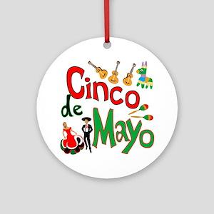 Cinco de Mayo Ornament (Round)
