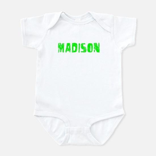 Madison Faded (Green) Infant Bodysuit