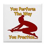 Gymnastics Tile Coaster - Perform