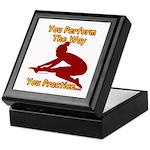 Gymnastics Keepsake Box - Perform
