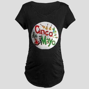 Cinco de Mayo Maternity Dark T-Shirt