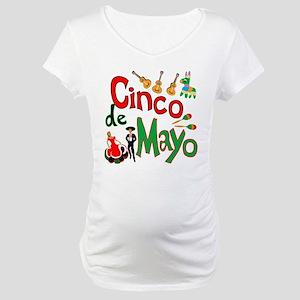 Cinco de Mayo Maternity T-Shirt