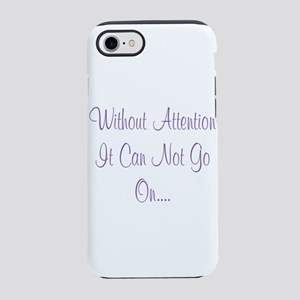 Umsted Design Without Attent iPhone 8/7 Tough Case