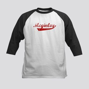 Mcginley (red vintage) Kids Baseball Jersey