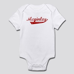 Mcginley (red vintage) Infant Bodysuit