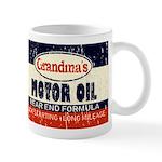 Grandma's Motor Oil Mugs