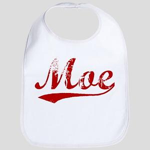Moe (red vintage) Bib