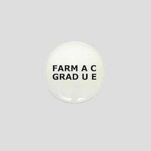 Funny Pharmacy Degree Mini Button