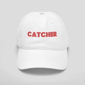 Retro Catcher (Red) Cap