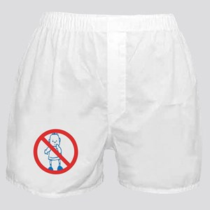 No Kids Allowed Boxer Shorts