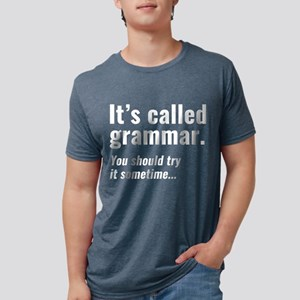 It's Called Grammar Women's Dark T-Shirt