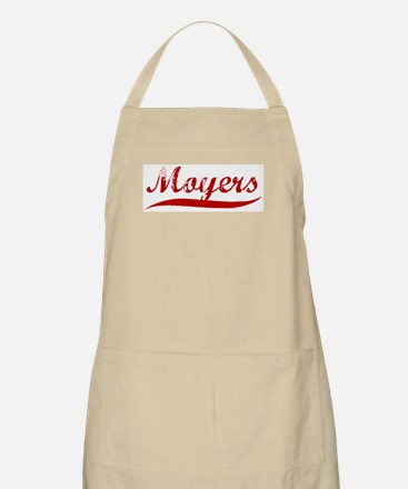 Moyers (red vintage) BBQ Apron
