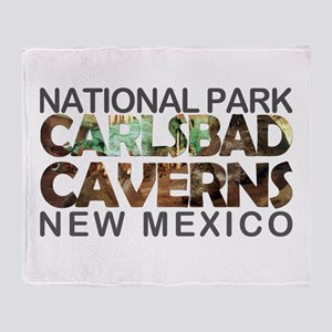 Carlsbad Caverns - New Mexico Throw Blanket