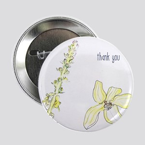 """Thank you Agrimony blooms 2.25"""" Button (10 pack)"""