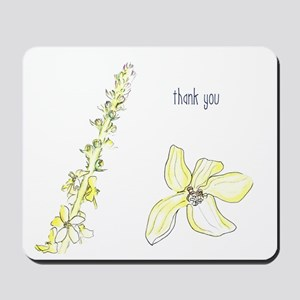 Thank you Agrimony blooms Mousepad