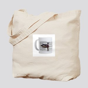 Wood duck coffee mug Tote Bag