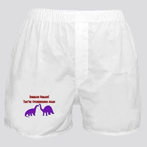 Overbreeding Dinosaurs Boxer Shorts