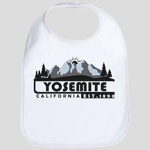Yosemite - California Baby Bib