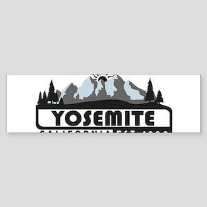 Yosemite - California Bumper Sticker