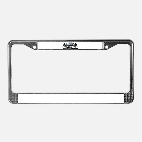 Yosemite - California License Plate Frame