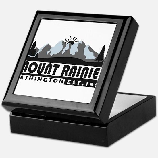 Mount Rainier - Washington Keepsake Box