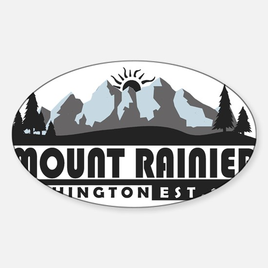 Mount Rainier - Washington Decal