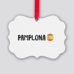 Pamplona Picture Ornament