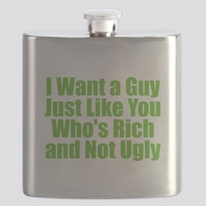 Rich Guy Ugly Flask