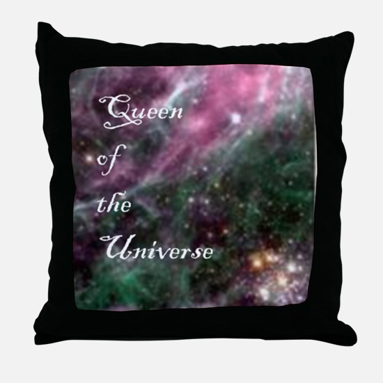 Unique Queen of the universe Throw Pillow