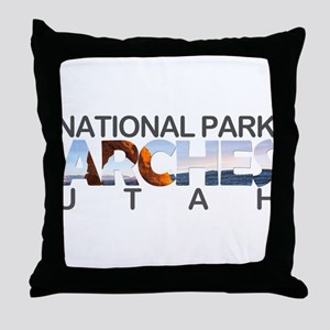 Arches - Utah Throw Pillow