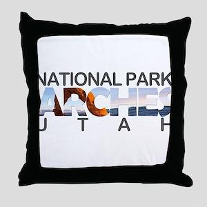 Arches - Utah Throw Pillow