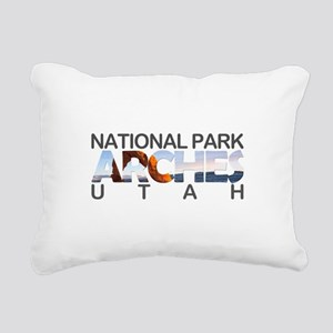 Arches - Utah Rectangular Canvas Pillow