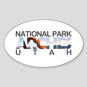 Arches - Utah Sticker
