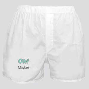 Umsted Design Oh Maybe Boxer Shorts