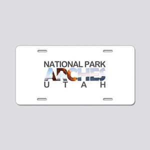 Arches - Utah Aluminum License Plate