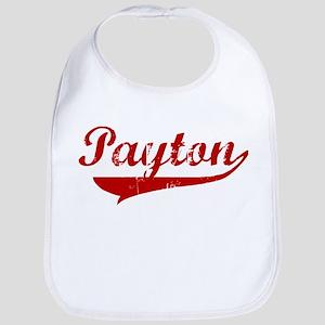 Payton (red vintage) Bib