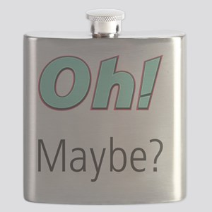 Umsted Design Oh Maybe Flask
