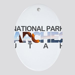 Arches - Utah Oval Ornament